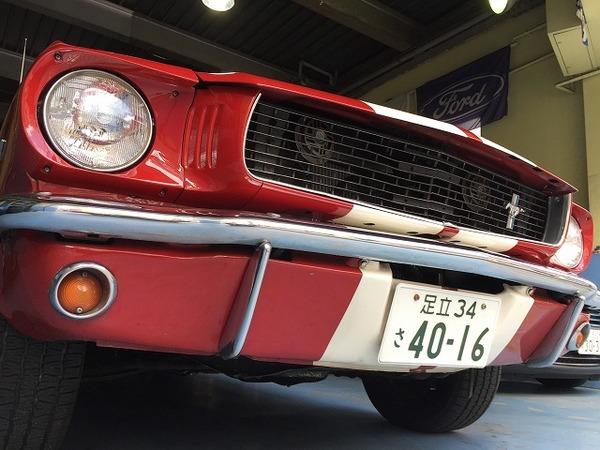 フォード 1966y マスタング ファストバック